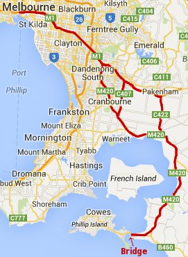 Phillip Island How To Get There From Melbourne