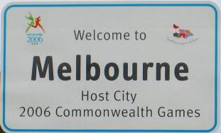 Commonwealth Games sign
