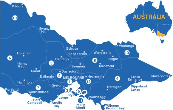 Regions of Victoria